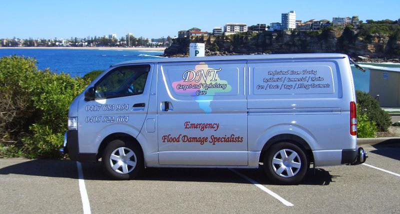 Our DNT Carpet and Upholstery Care Van!